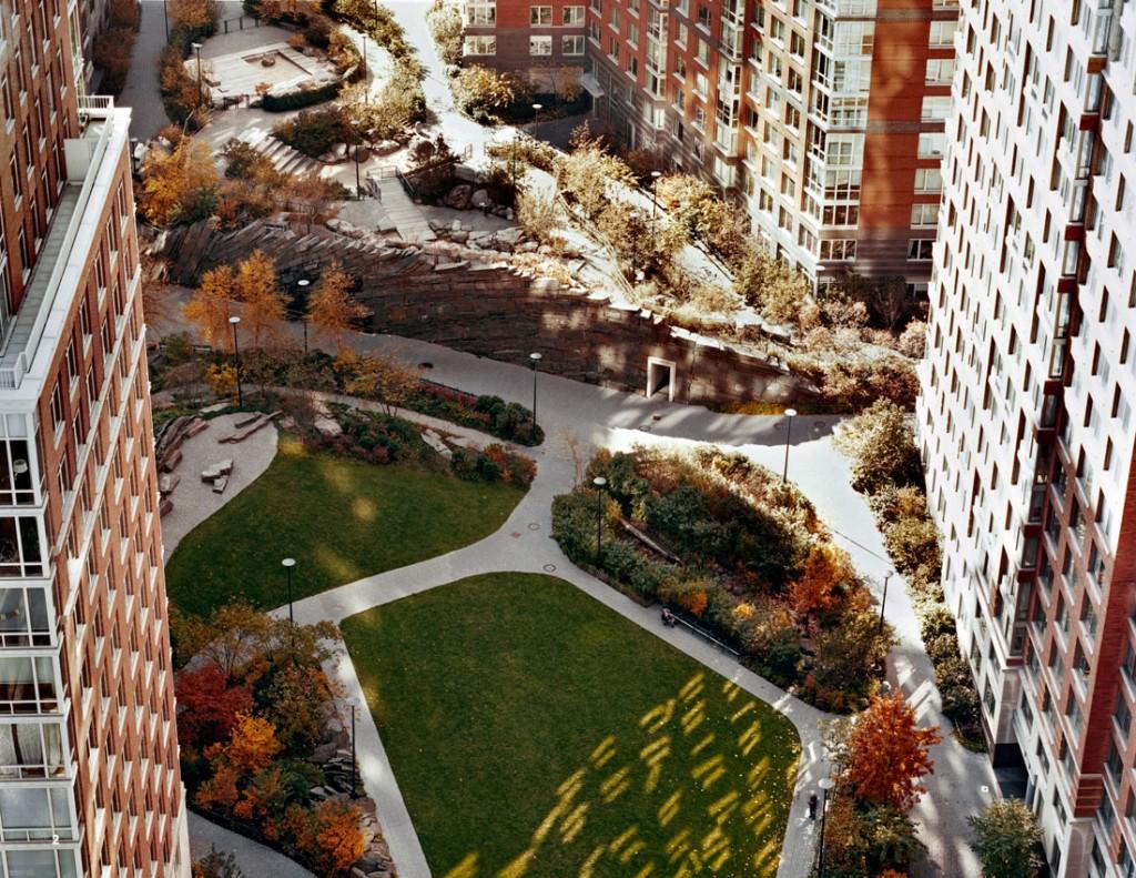 Teardrop Park By Michael Van Valkenburg Associates