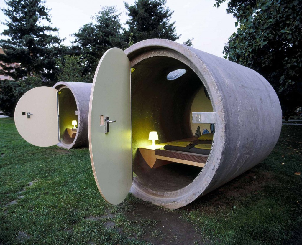 The Drain Pipes Hotel By Andreas Strauss 171 Landscape