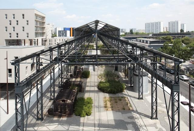 Adh nantes jardin des fonderies 43 landscape for Jardin industrial