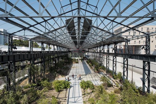 Adh nantes jardin des fonderies 50 landscape for Architecture de jardin