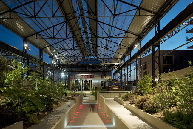 Adh nantes jardin des fonderies 54 landscape for Jardin nantes