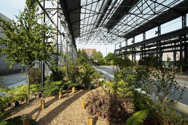 Adh nantes jardin des fonderies 62 landscape for Architecture de jardin