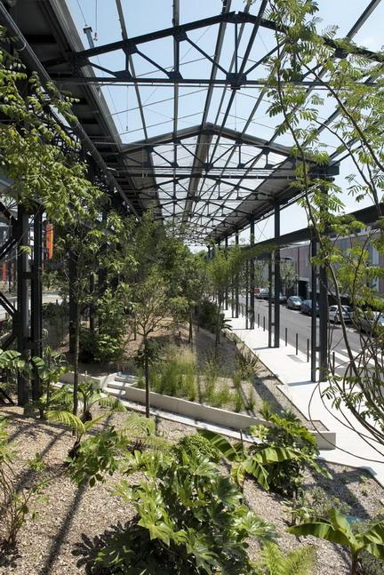 Adh nantes jardin des fonderies 64 landscape for Architecture de jardin