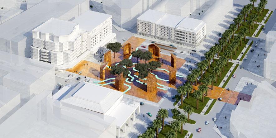 Place florence fez for Place landscape architecture