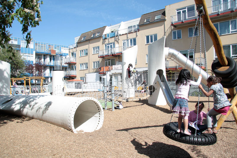 Wikado Recycled Playground by 2012 Architecten « Landscape Architecture Works