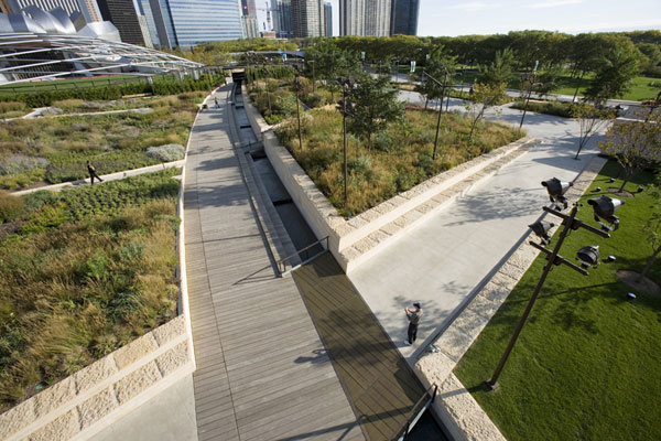 Lurie garden chicago 11 landscape architecture works for Lurie garden planting plan