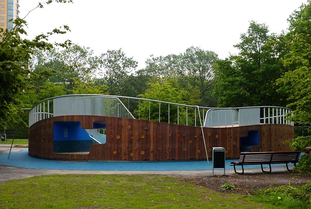 Landscape Children Playground