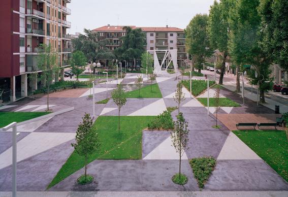 Piazza fontana labics 14 landscape architecture works for Garden designer milano