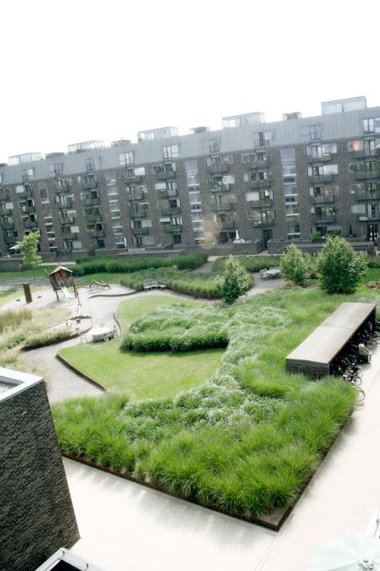 Charlotte garden sla copenhagen 20 landscape for Urban danish design