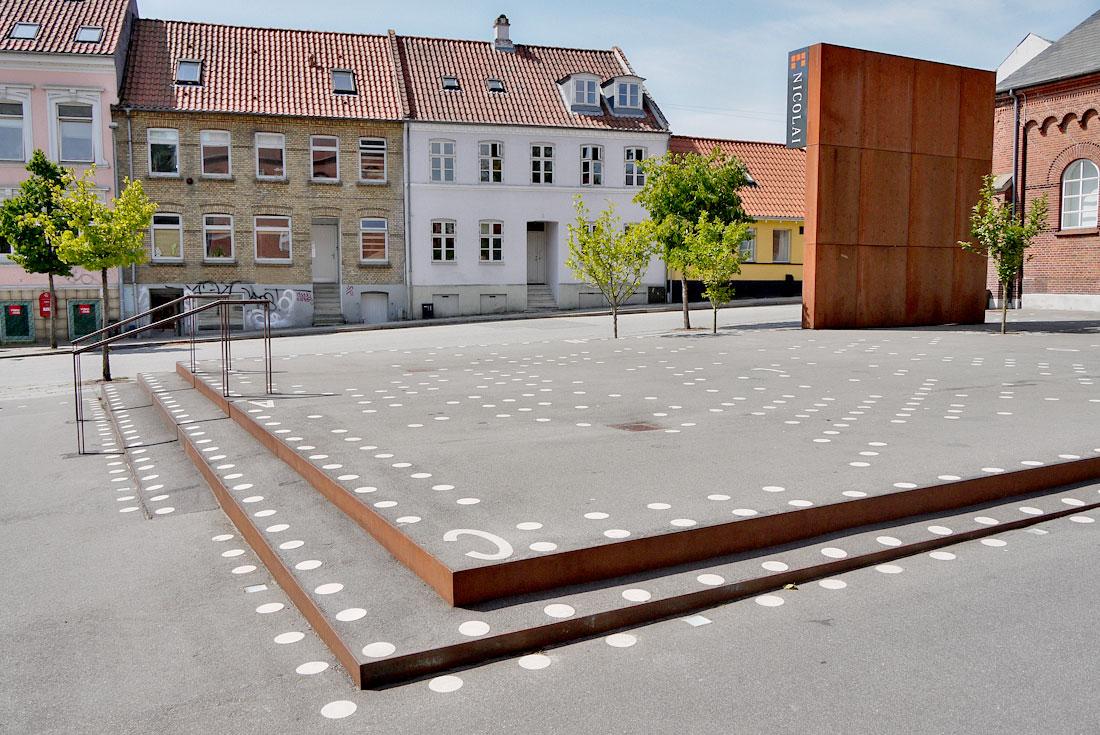 flade bryster cultural center in skanderborg