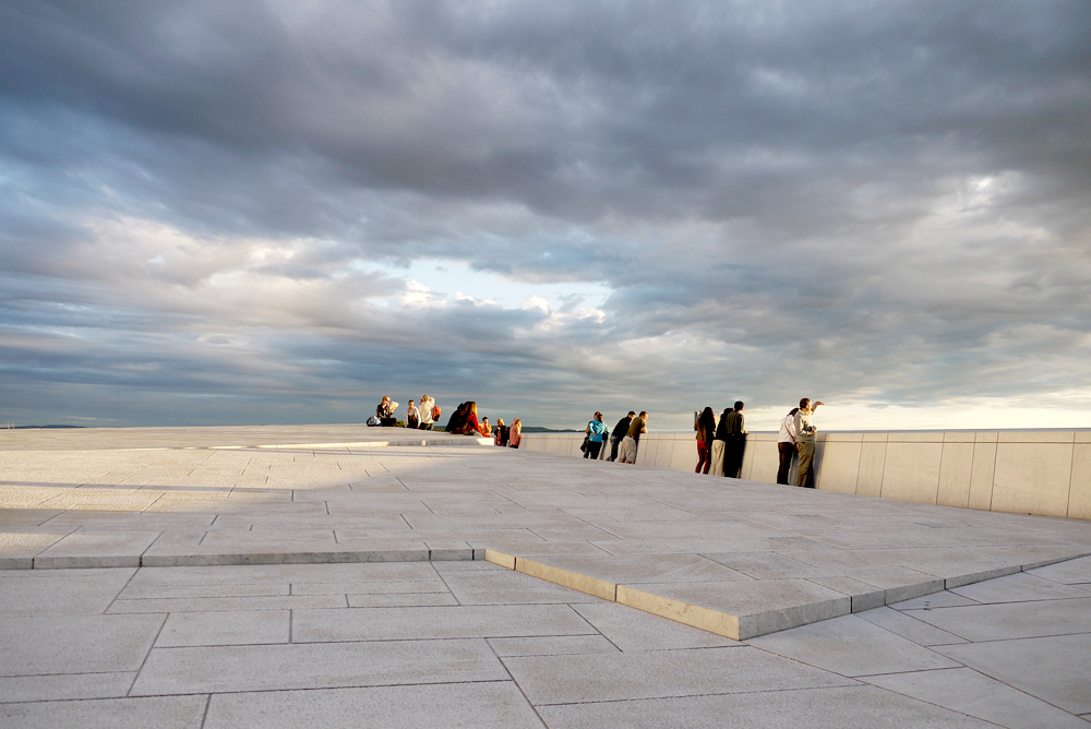 Roof Of Oslo Opera By Snohetta 171 Landscape Architecture