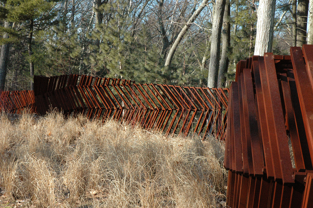 The Colouring Of Oxidized Corten Is A Natural Complement