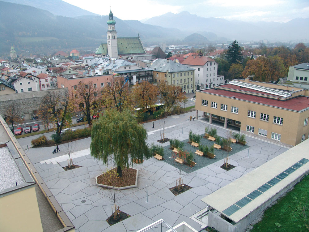 Town Square In Hall By Aubck amp Krsz Landscape