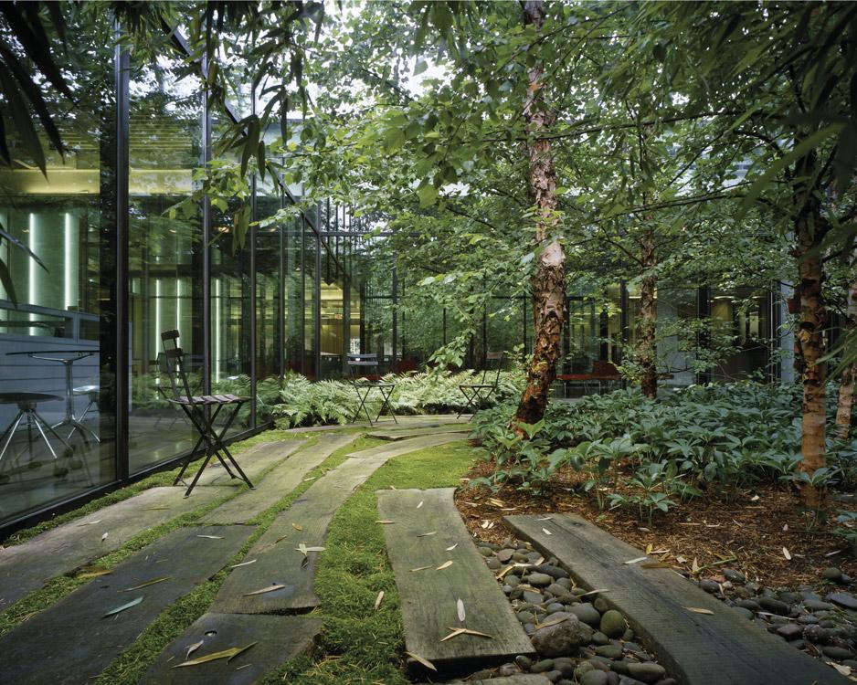 05 van valkenburgh landscape architecture tahari for Courtyard landscape architecture