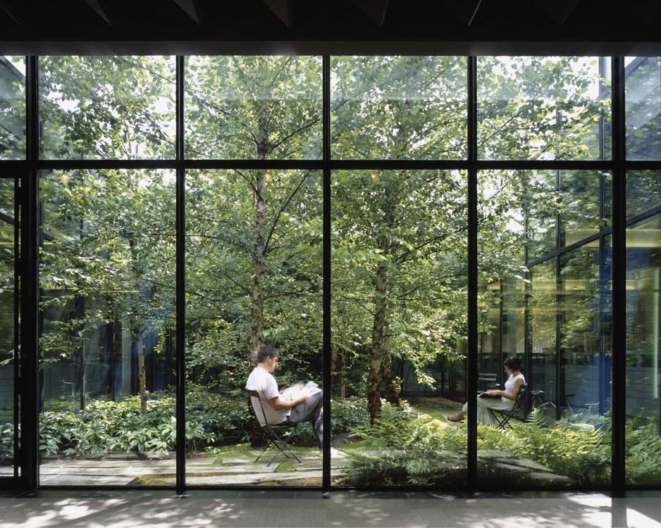 06 van valkenburgh landscape architecture tahari for Courtyard landscape architecture