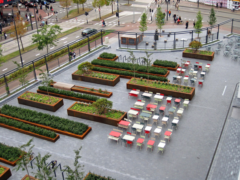 Mathildeplein by buro lubbers landscape architecture for Buro water street