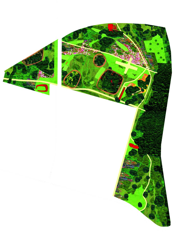 Waldpark In Potsdam By Bureau Bb Landscape Architecture Platform