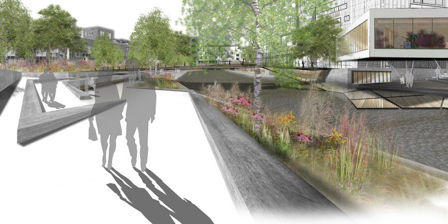 Landscape Architecture Perspective Drawings okra-landscape-architecture-plan_holstebro « landscape