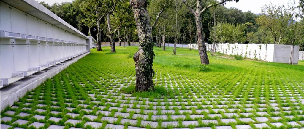 Laroque Des Alberes Cemetery By Emf Landscape Architecture