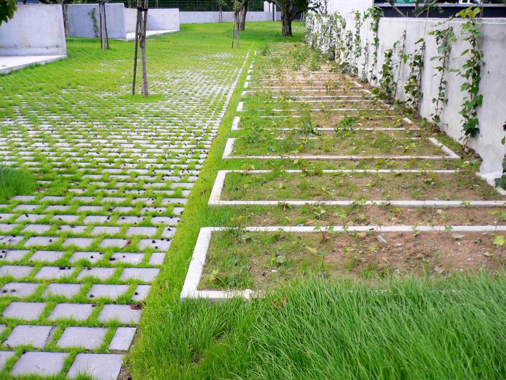 Laroque des alberes cemetery by emf landscape architecture for Landscape architecture