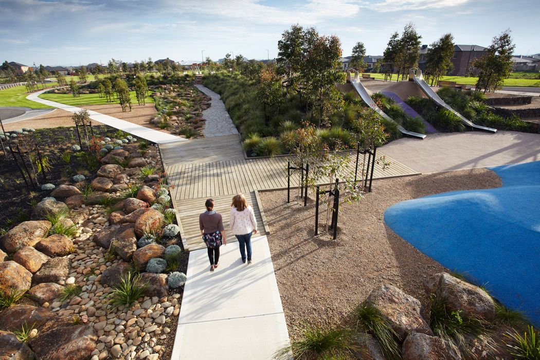 Rooke reserve by cpg australia landscape architecture for Residential landscape architects melbourne