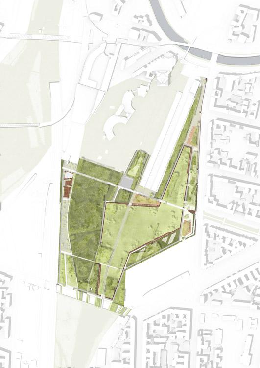 Park Am Gleisdreieck By Atelier LOIDL Landscape Architecture Works