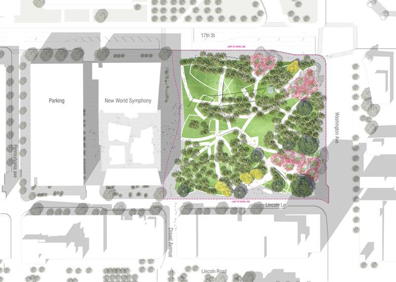 Miami beach soundscape 10 ph west 8 landscape for West 8 landscape architecture