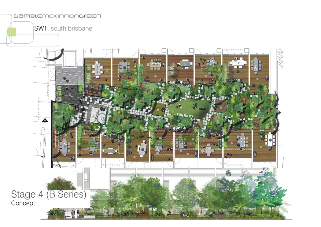 Landscape Architecture Of Sw1 By Gamble Mckinnon Green Landscape Architecture