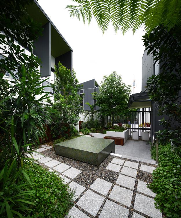Sw1 landscape 048 aperture landscape architecture works for Courtyard landscape design brisbane