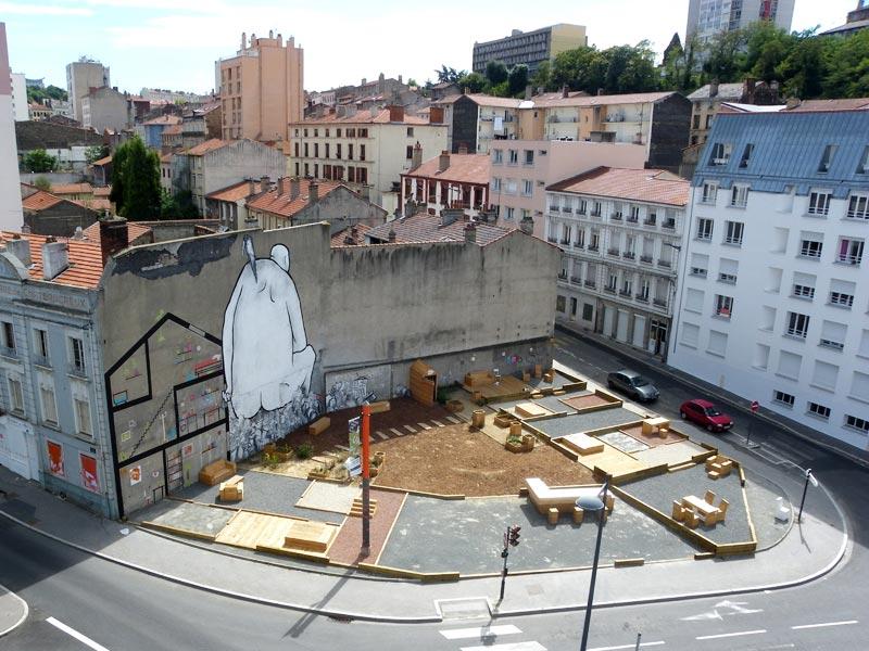 Place au changement by collectifetc landscape for Place landscape architecture