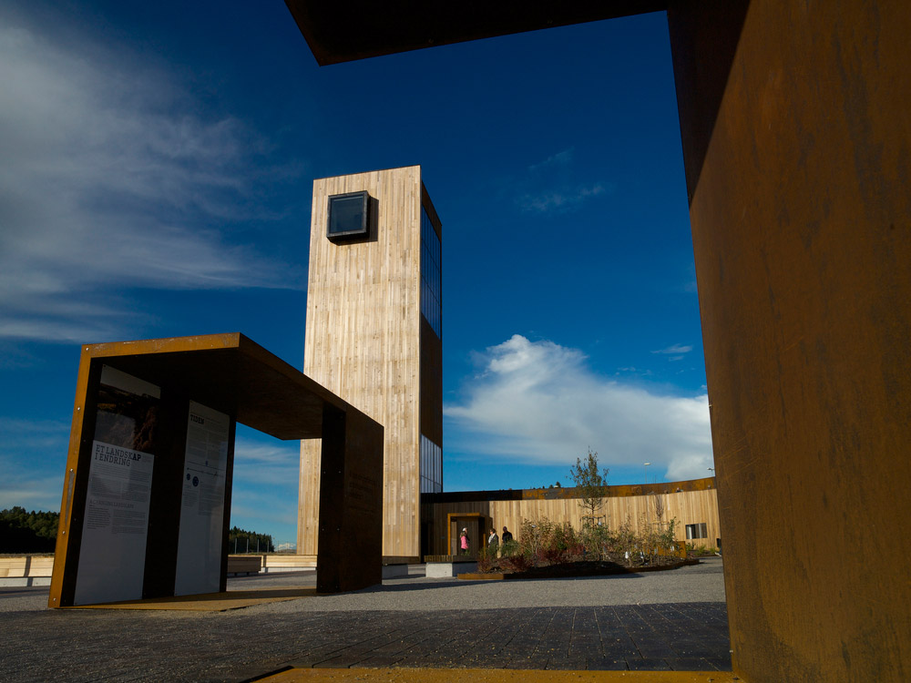 Solberg tower rest area 21 landscape architecture works for Architecture rest