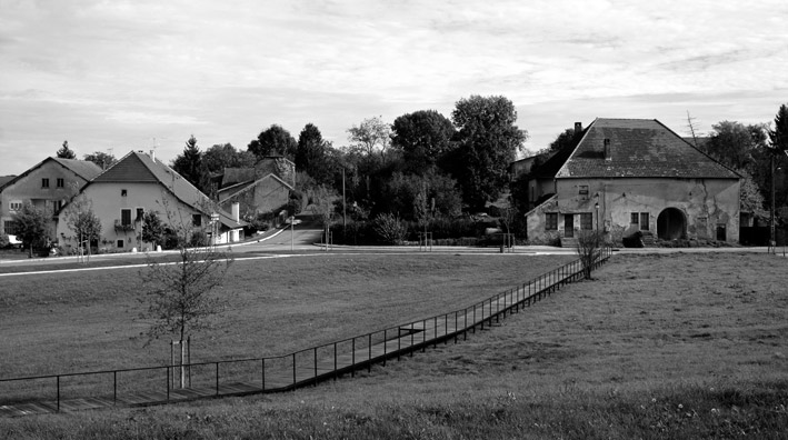 Park in sermange by agence territoires « landscape architecture