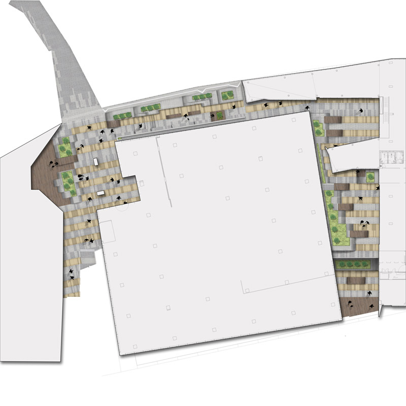 Aspect 717bourke plan landscape architecture works for Aspect landscape architects