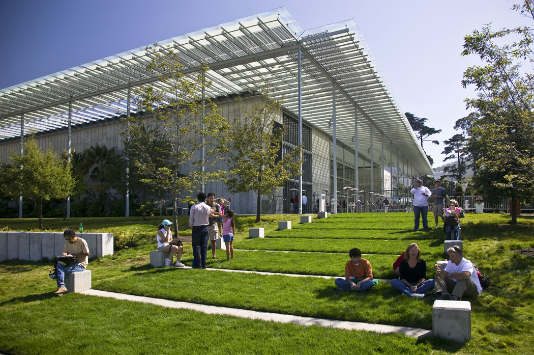California Academy Of Sciences Living Roof By Swa Group