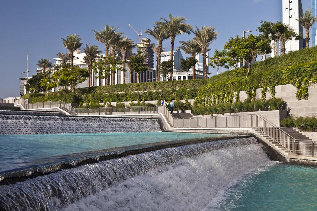 Burj khalifa garden by swa landscape architecture 04 for Swa landscape architecture