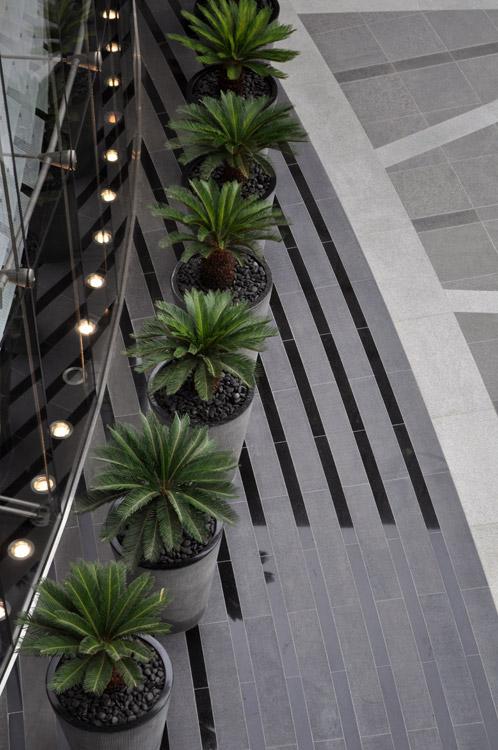 Burj khalifa garden by swa landscape architecture 13 for Swa landscape architecture