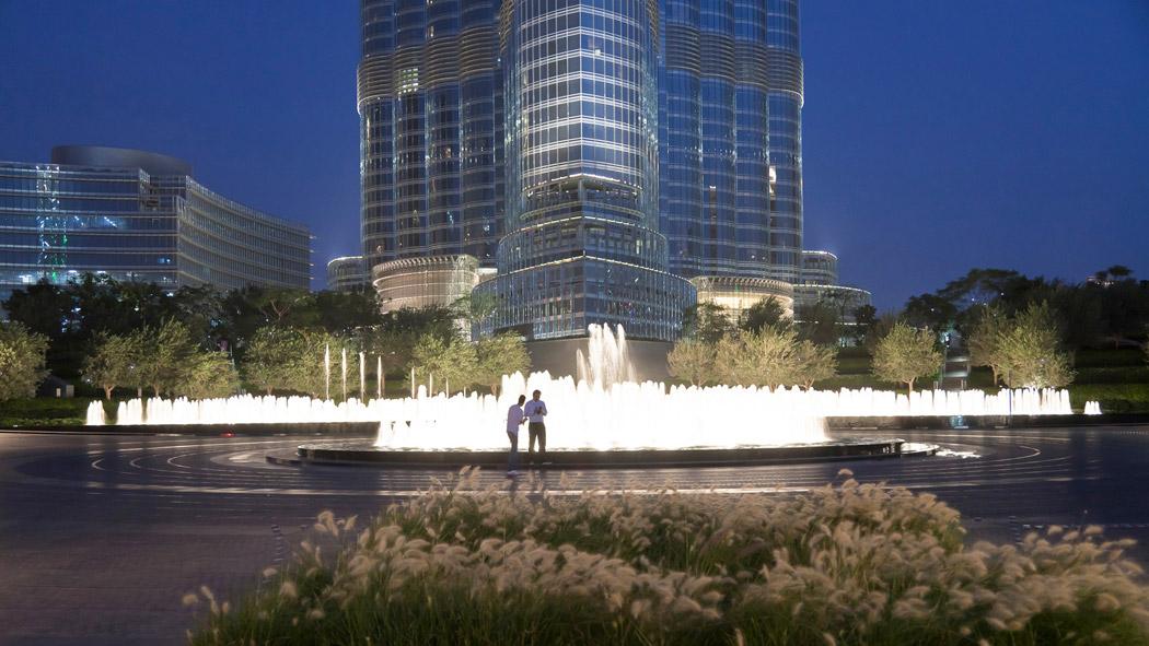 Burj khalifa garden by swa landscape architecture 17 for Swa landscape architecture