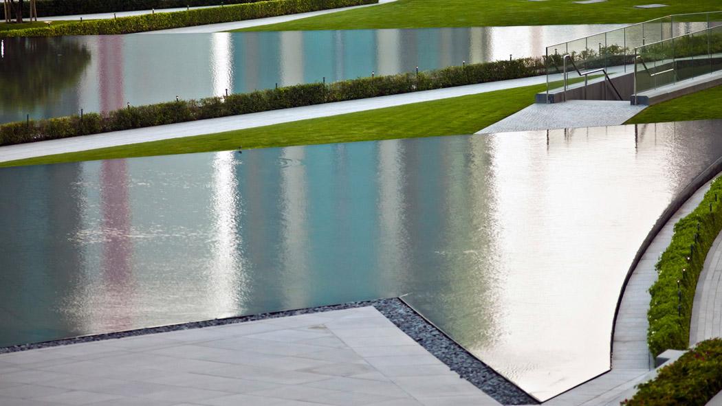 Burj khalifa garden by swa landscape architecture 18 for Swa landscape architecture