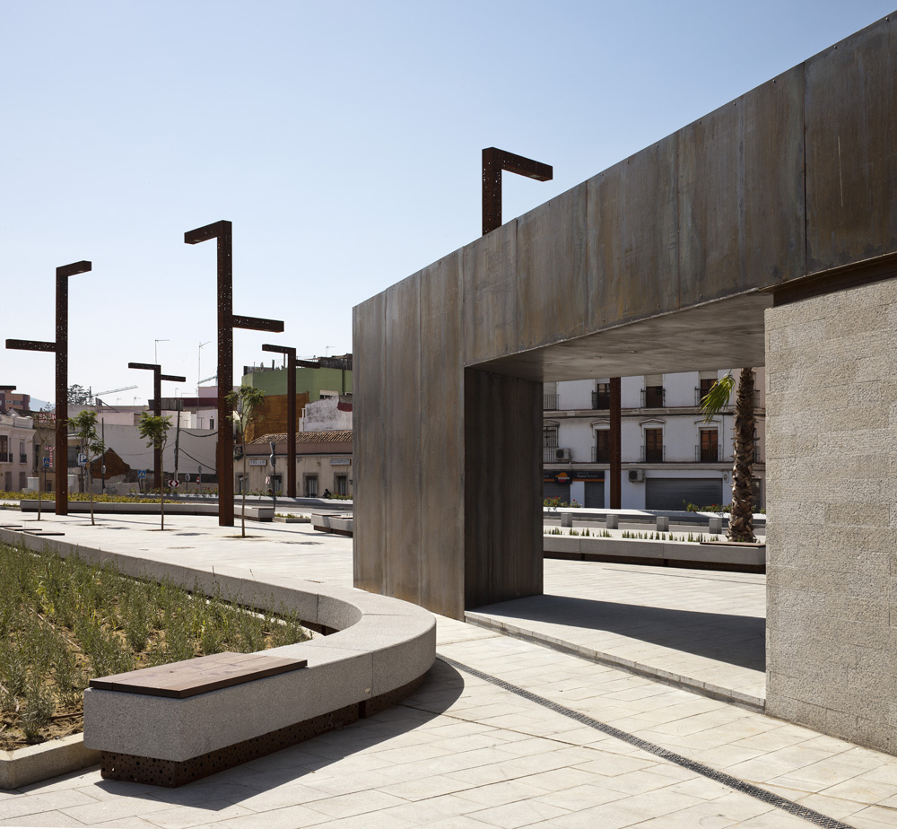 Public spaces in algeciras by mari as arquitectos for Space architecture