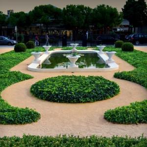 Kempinski palace hotel by landscape landscape for Hotel landscape design