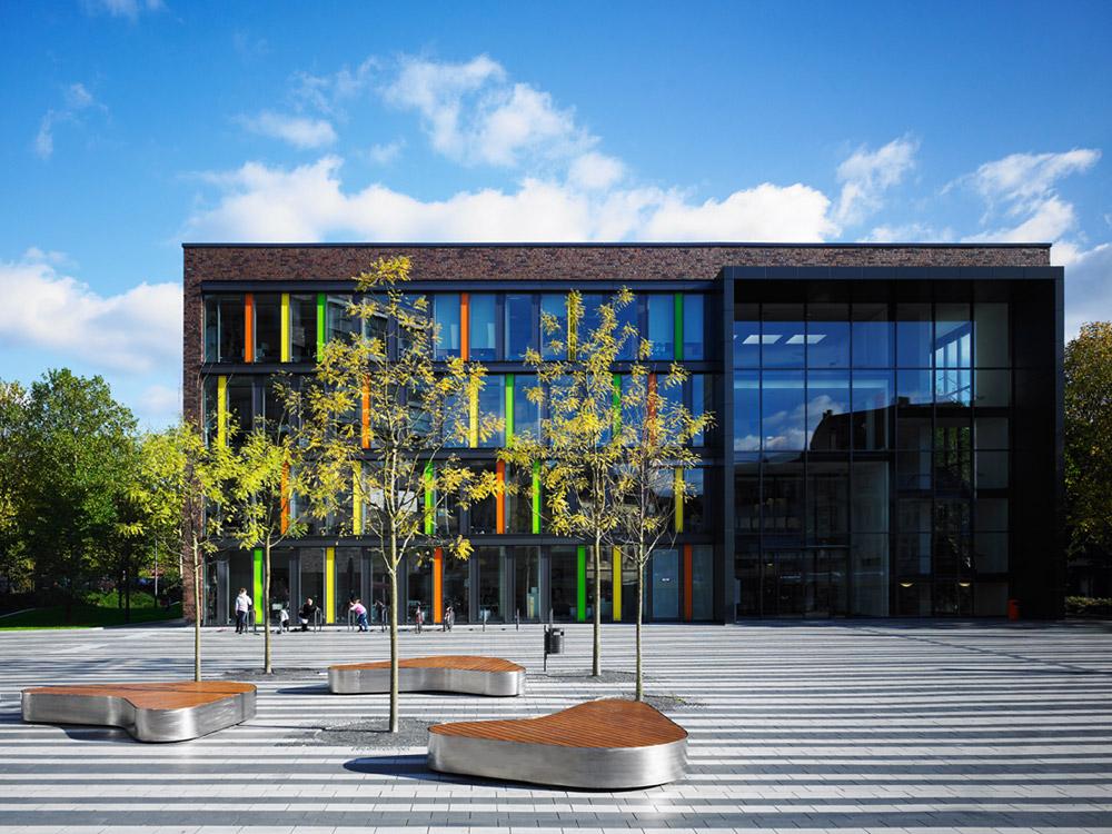 Town Hall Square Solingen Landscape Architecture Works