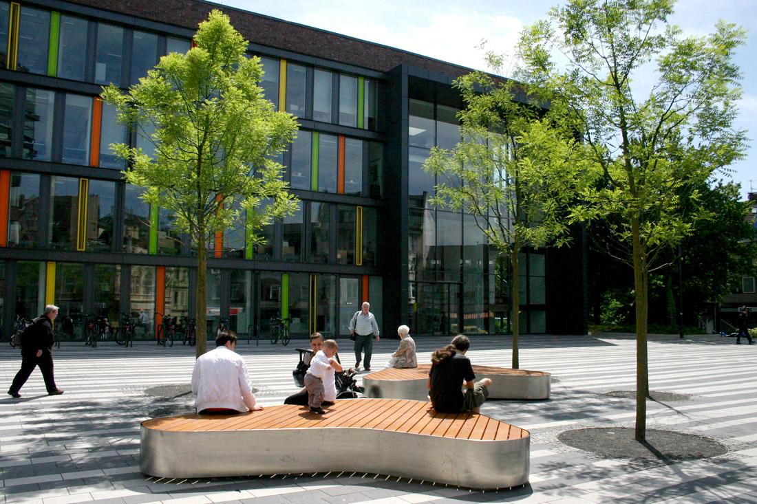 11town hall square scape Landscape Architecture Works
