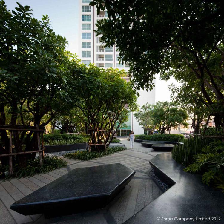 Shma life ladprao 66 landscape architecture works for Urban home landscape design