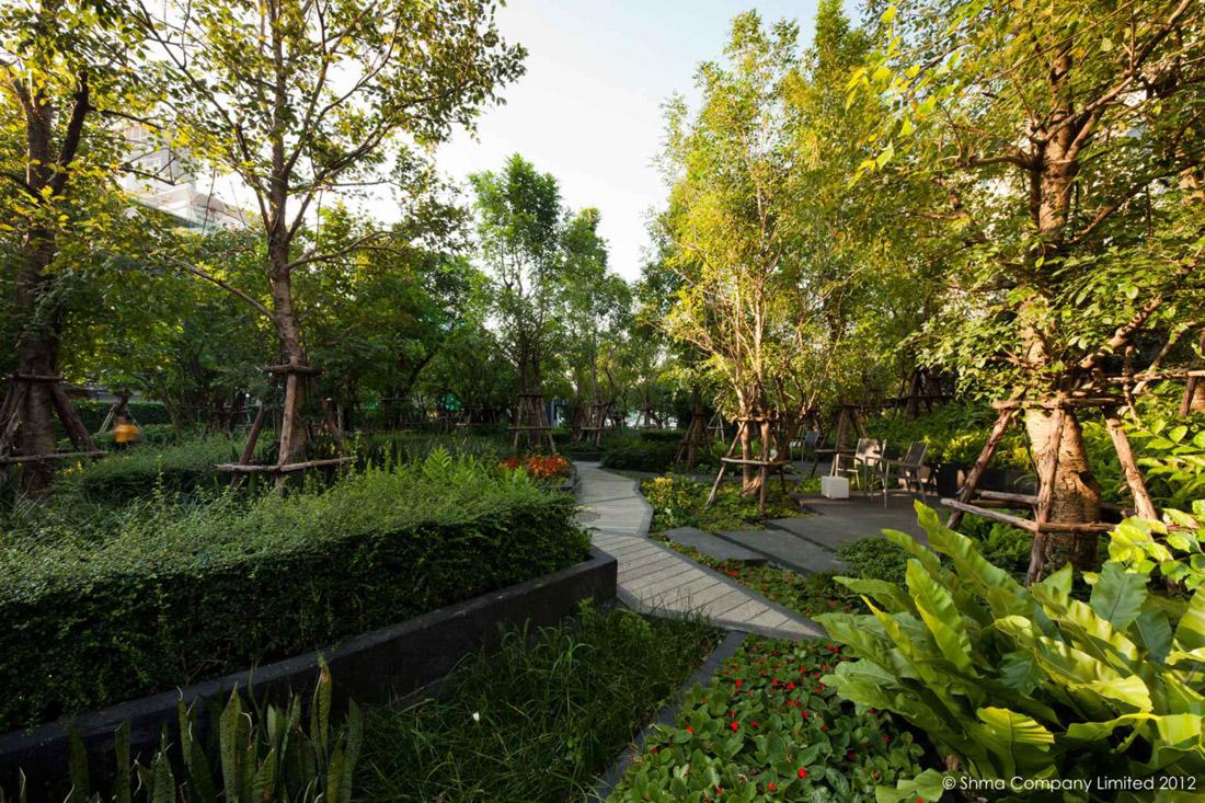 Life@Ladprao 18 Condominium Garden by Shma Design « Landscape ...