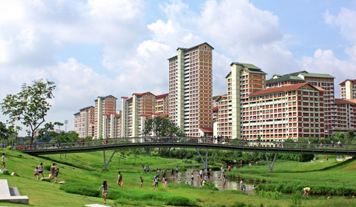 Kallang river activity following revitalisation