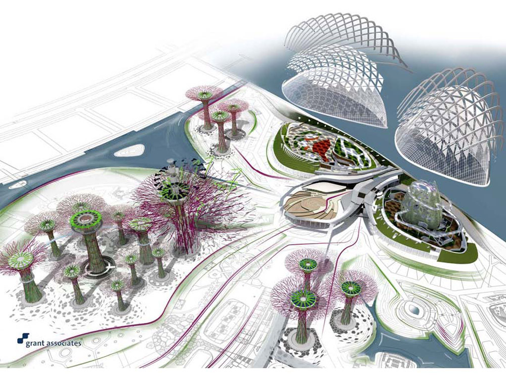 Garden By The Bay Floor Plan gardensthe baygrant associates « landscape architecture