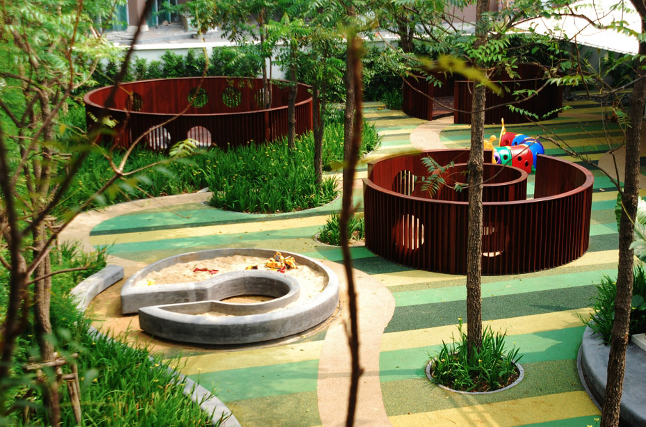 Shrewsbury international school by shma landscape for School garden designs