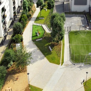 The Grand Ensemble Park Alfortville By Espace Libre Landscape