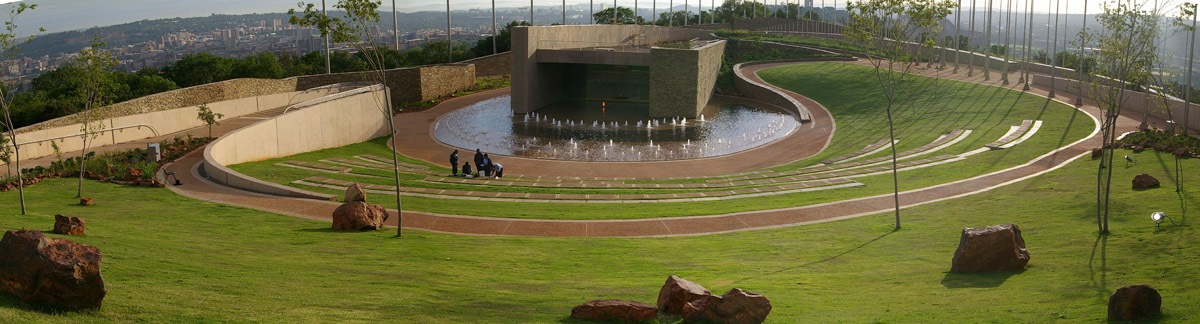 Freedom park sikumbuto amphitheatre graham young for Greeninc landscape architecture