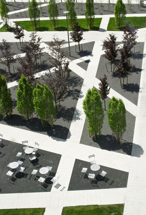 Gh3 scholars green park 05 landscape architecture works for Terraplan landscape architects